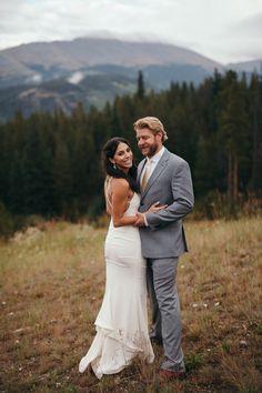 #aandberealbride // breckenridge colorado wedding