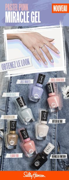 Collection Miracle Gel Pastel Punk | Sally Hansen