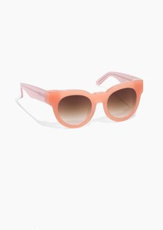 0ab18571a418 Other Stories image 1 of Chunky Frame Sunglasses in Pink Four Eyes