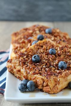 Pecan Crusted French Toast - the perfect french toast coated in crunchy, cinnamon pecans!   LoveGrowsWild.com