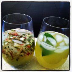 Apple & Mint iced tea
