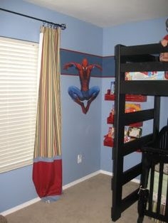 Spiderman Room!