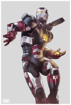 IRON PATRIOT by Jamal Campbell