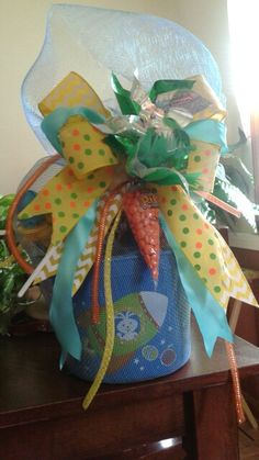 Easter basket for a boy....Connie's Creations.