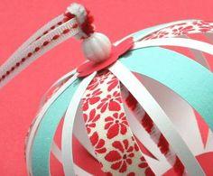 paper/fabric ornaments