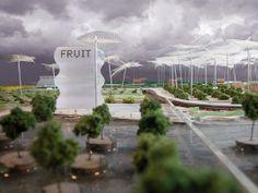 Park Supermarkt Van Bergen Kolpa Architecten Fruitafdeling