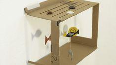 aquarium carton diy enfant / cardboard fishball diy