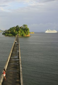 Bridge to Nowhere, Samana Bay, Dominican Republic