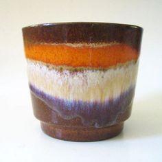 Image result for large orange blue scheurich planter