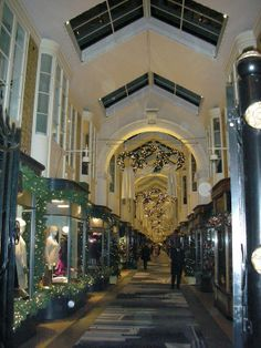 Burlington Arcade in Bond Street London