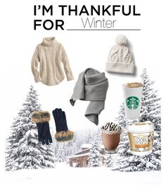 """I'm thankful for Winter"" by cecithestylespotter ❤ liked on Polyvore featuring Gap, UGG, Acne Studios, imthankfulfor and cecithestylespotter"