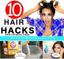 10 Everyday HAIR HACKS & Hairstyles Every Girl Should Know!