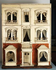 """From the 2008 exhibit by the Chester County Historical Society """"Discovering Dollhouses"""""""