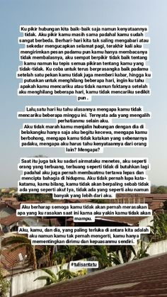 Quotes Rindu, Snap Quotes, Story Quotes, Tumblr Quotes, Text Quotes, Mood Quotes, Life Quotes, Qoutes, Cinta Quotes
