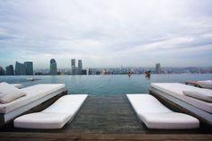 150 _Meter Outdoor Infinity Pool | Marina Bay Sands