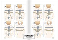 Takate-kote (zwei Seile) => Buchseite 140/141 aus Shibaku · Basis & Grundlagen