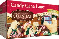 Candy Cane Lane Decaf Green Tea: Hello Holidays!