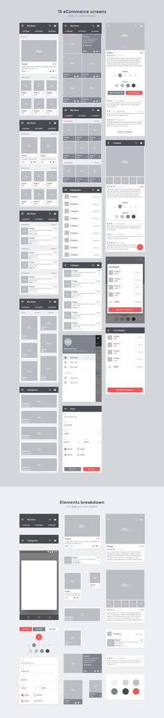 Carbon: Material Wireframe Kit by Panagiotis