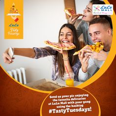 Had a blast during the Onam holidays @ LuLu? Send us your pic enjoying the favorite delicacies at LuLu Mall with your gang! Don't forget to use the hashtag #TastyTuesdays while sending the pic to us! www.lulumall.in