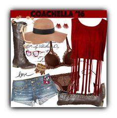 """A Great Weekend At Coachilla"" by freshstart60 ❤ liked on Polyvore featuring Natori, True Religion, Refresh, Fendi, Reiss, Eugenia Kim, Kenneth Jay Lane and bestofcoachella"