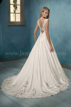 Jasmine Bridal | Bridal Collection Fall 2017 line | Whimsical Wedding Dress | Enchanted Wedding | Available for Plus Size Wedding Dresses