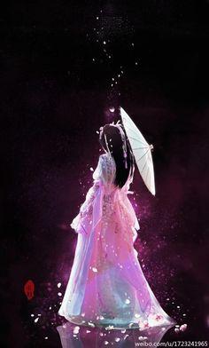 紫木栖心采集到古风(554图)_花瓣