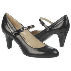 cff56193b86 Naturalizer Orianne Shoes (Black Leather Shiny) - 5.5 M Work Attire Women