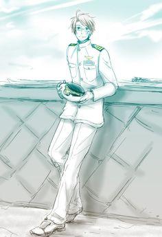 Navy by 鈴太- Hetalia - America / England