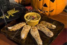 Dedos de pollo Halloween