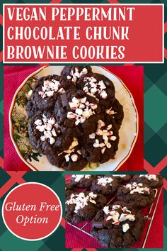 Vegan Gluten Free, Gluten Free Recipes, My Recipes, Chocolate Chunk Brownies, Brownie Cookies, Gluten Free Chocolate, Gluten Free Cookies, Cookie Dough, Baking Soda