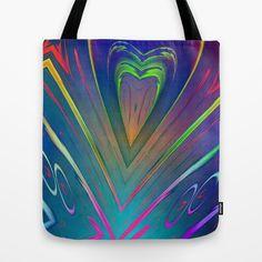 endelss love Tote Bag by Christine baessler - $22.00