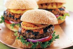 Waughburgers.  Canadian Living has great burger recipes perfect for summer