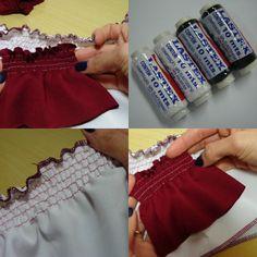 Moda By Nill: Costurando com LASTEX!!!