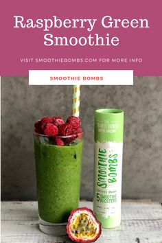 Nutritionally boosted with a Super Greens Smoothie Bomb