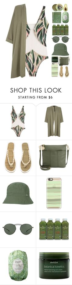 """""""where do you love?"""" by iradicate ❤ liked on Polyvore featuring ADRIANA DEGREAS, River Island, Tommy Hilfiger, Casetify, Mykita, Fresh, Aveda, Burt's Bees and onepieceswimsuit"""