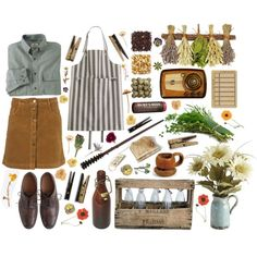 The wizarding world: summer at the burrow harry potter fashion одежда, диза The Burrow Harry Potter, Harry Potter Style, Harry Potter Outfits, Quirky Fashion, Cute Fashion, Vintage Fashion, Vintage Style, Pretty Outfits, Cute Outfits
