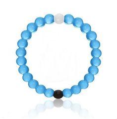 BLUE Size Extra Large - HOT! Authentic! New Lokai brand Bracelet - Mt. Everest/Dead Sea Balanced Life Fashion Accessory