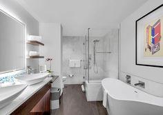 amazing white bathroom. design. minimalism. marble. shapes. art. clean. love