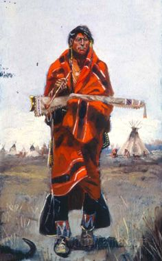 On Guard by Charles Marion Russell