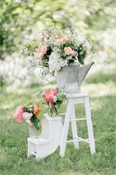 30 Rustic Backyard Outdoor/Garden Wedding Ideas | http://www.deerpearlflowers.com/30-rustic-backyard-outdoorgarden-wedding-ideas/