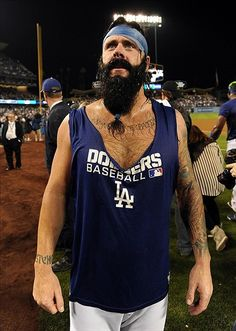 Brian Wilson Got a New Tattoo What Else is New? - Lasorda's Lair - A ...