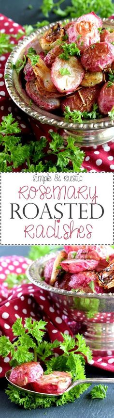 Rosemary Roasted Radishes - Lord Byron's Kitchen