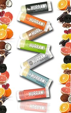 Hurraw! Lip Balm is 100%  raw, vegan and all natural.. They don't contain Beeswax or any synthetic waxes so they don't irritate the skin around the  lips.
