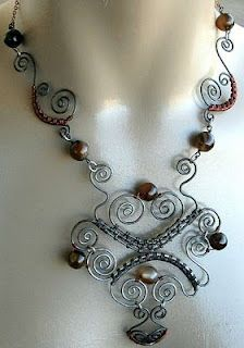 Steel Wire Decorated