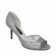 Nina Fern | Pewter Glitter Pewter Satin Holiday Shoes, Precious Metals, Girls Best Friends, Nina Womens, Shoes, Pumps, Fashion | Nina Shoes