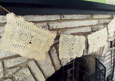 Vintage Crochet Bunting