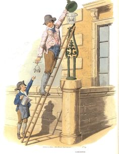 The Trades Depicted, Pyne's British Costumes, 1805