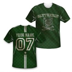 Join+the+team+with+our+exclusive+personalized+Slytherin+crest+youth+Quidditch+jersey+style+t-shirt!+Select+your+number+and+then+add+your+very+own+name+to+create+a+shirt+that+you'll+treasure+forever.+This+sublimated+shirt+features+the+Slytherin+name+and+crest+on+the+front+and+the+numbers+01,+04,+05,+or+07+on+the+back,+along+with+your+name,+all+against+a+dynamic+checkered+pattern+of+the+Slytherin+colors.+So+whether+you're+a+Seeker,+a+Keeper,+a+Beater,+or+a+Chaser,+we've+got+a+shirt+for+you!...