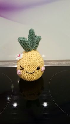 Happy Pineapple  Crochet with me summertime von KittySweetCrochet
