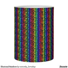 Illusional Rainbow Flameless Candle